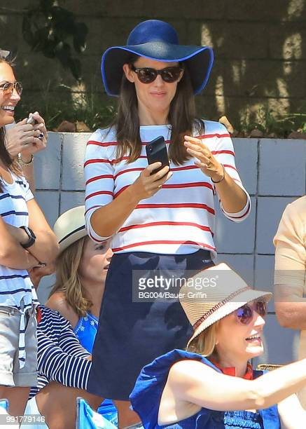 Jennifer Garner is seen on July 04 2018 in Los Angeles California