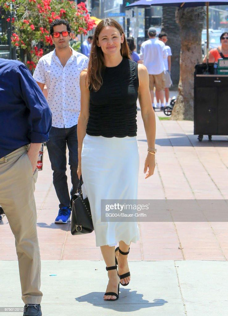 Jennifer Garner is seen on June 14, 2018 in Los Angeles, California.