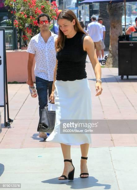 Jennifer Garner is seen on June 14 2018 in Los Angeles California