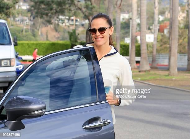 Jennifer Garner is seen on March 08 2018 in Los Angeles California
