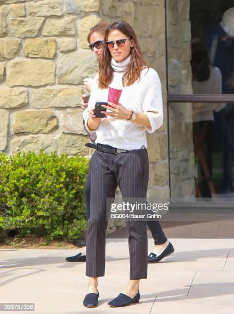 Jennifer Garner is seen on March 18 2018 in Los Angeles California