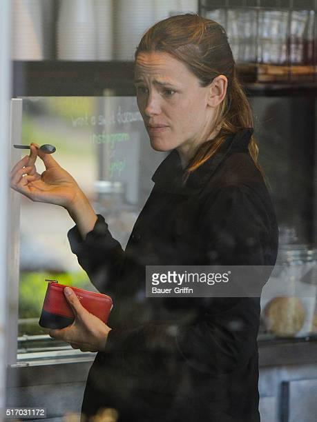 Jennifer Garner is seen on March 22 2016 in Los Angeles California