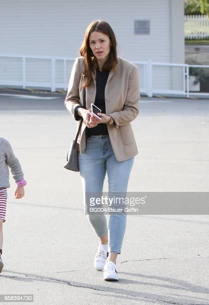 Jennifer Garner is seen on March 27 2017 in Los Angeles California