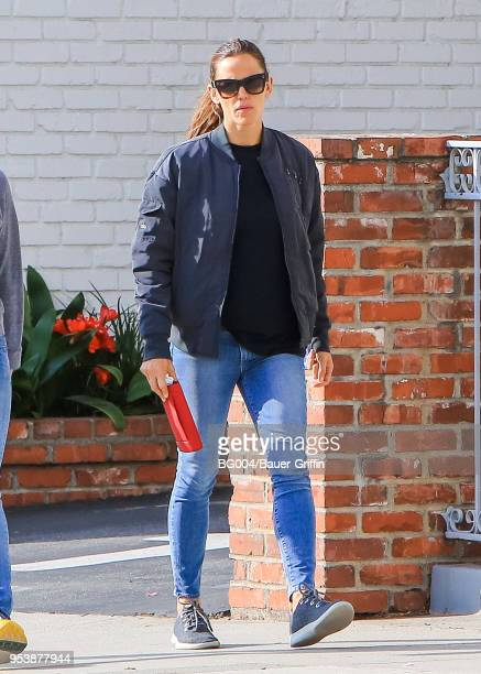 Jennifer Garner is seen on May 02 2018 in Los Angeles California