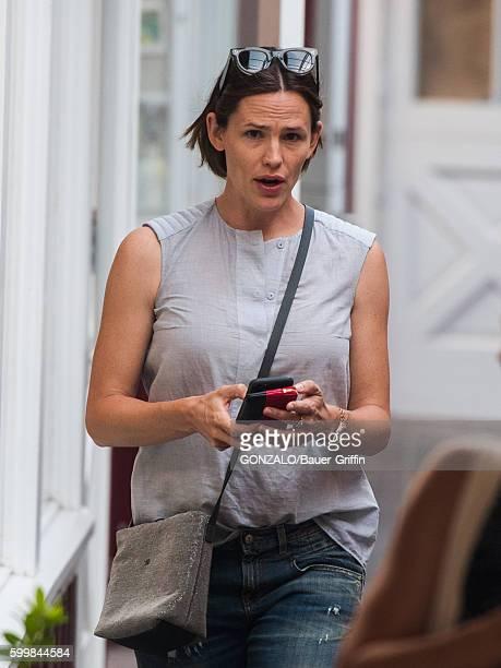 Jennifer Garner is seen on September 06 2016 in Los Angeles California