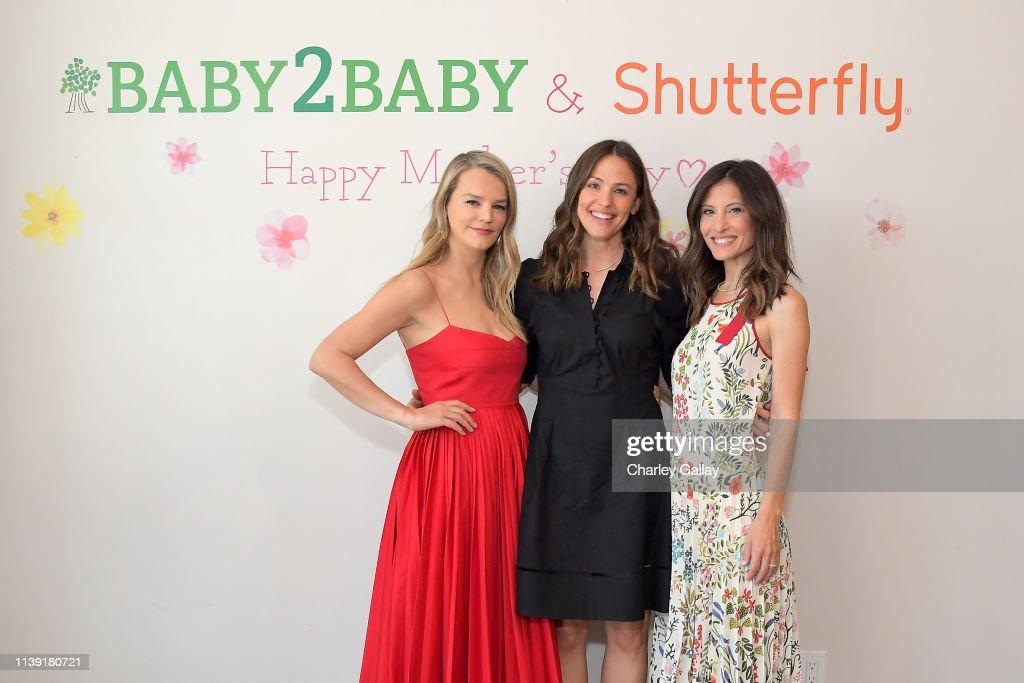 CA: Jennifer Garner Hosts The Baby2Baby Mother's Day Celebration Presented By Shutterfly
