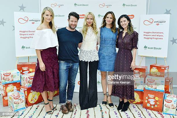 Jennifer Garner Nate Berkus and Rachel Zoe along with Baby2Baby's CoPresidents Norah Weinstein and Kelly Sawyer Patricof attend the Baby2Baby and...