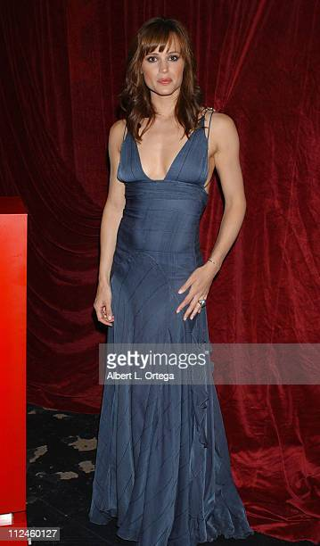 Jennifer Garner presenter during 2004 Creative Emmy Awards Backstage at The Shrine Auditorium in Los Angeles CA United States
