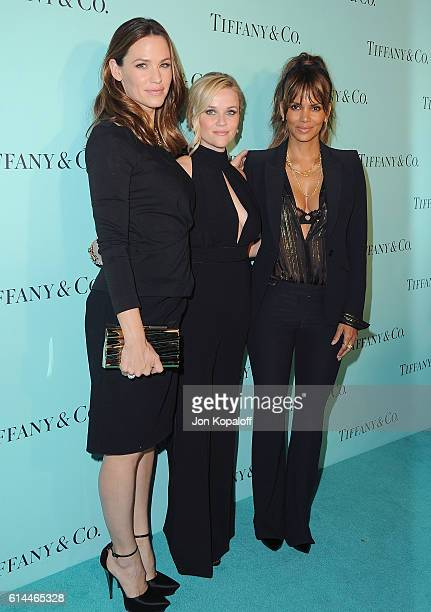 Jennifer Garner, Reese Witherspoon and Halle Berry arrive at Tiffany And Co. Celebrates Unveiling Of Renovated Beverly Hills Store at Tiffany & Co....
