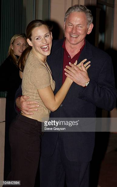 Jennifer Garner Victor Garber during ATAS Presents Behind The Scenes of 'Alias' at The Academy of Television Arts Sciences in North Hollywood...