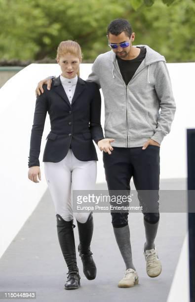 Jennifer Gates and her boyfriend Nayel Nassar during MadridLongines Champions the International Global Champions Tour at Club de Campo Villa de...