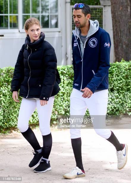 Jennifer Gates and Nayel Nassar during MadridLongines Champions the International Global Champions Tour at Club de Campo Villa de Madrid on May 17...