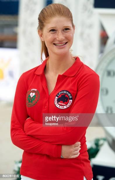 Jennifer Gates attends Global Champions Tour of Monaco 2017 on June 23 2017 in MonteCarlo Monaco