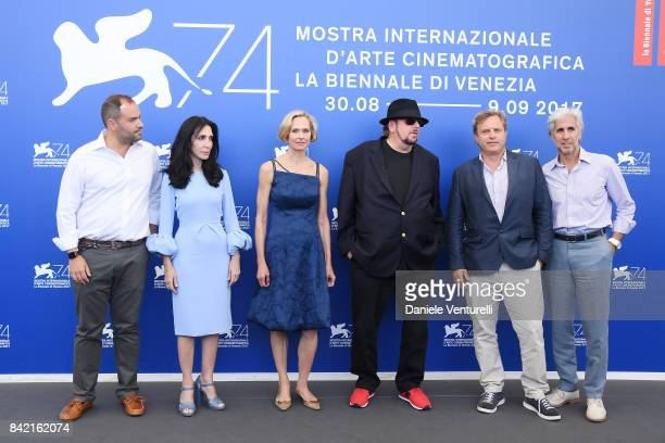 Jennifer Gelfer Valda Witt James Toback Michael Mailer and Alan Helene attend the 'The Private Life Of A Modern Woman' Cinema photocall during the...