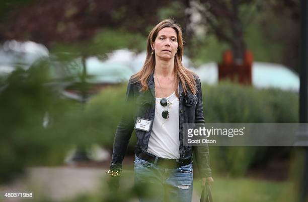 Jennifer Gilbert founder and chief visionary officer of Save the Date attends the Allen Company Sun Valley Conference on July 11 2015 in Sun Valley...