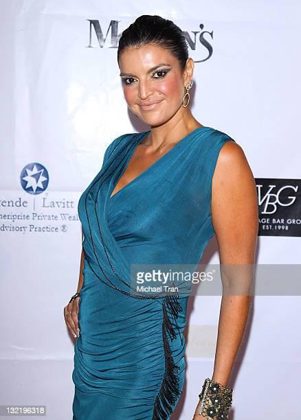 Jennifer Gimenez arrives at the Face Forward 2nd Annual gala for a new beginning held at InterContinental Hotel on July 9 2011 in Century City...