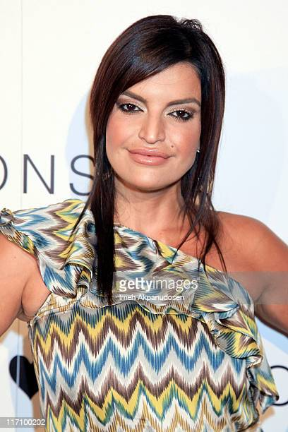 Jennifer Gimenez attends the I Heart Ronson and jcpenney celebration of The I Heart Ronson Collection held at the Hollywood Roosevelt Hotel on June...