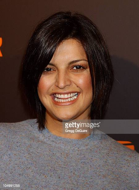 Jennifer Gimenez during Camp Freddy Performs Live At Blender Sessions at Ivar in Hollywood California United States