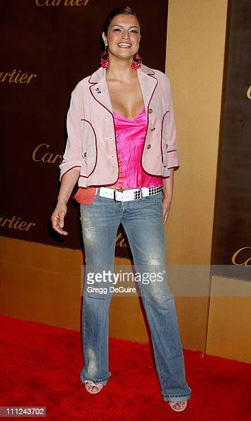 Jennifer Gimenez during Cartier Celebrates 25 Years in Beverly Hills in Honor of Project ALS Arrivals at Cartier in Beverly Hills California United...