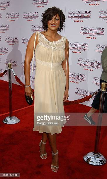 """Jennifer Gimenez during """"Charlie's Angels 2 - Full Throttle"""" Premiere at Mann's Chinese Theater in Hollywood, California, United States."""