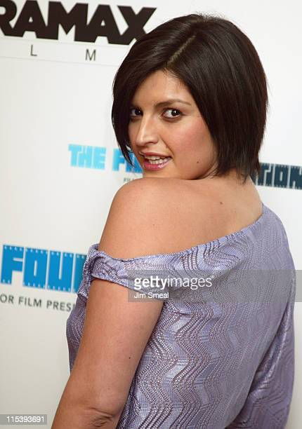 Jennifer Gimenez during Gangs of New York Los Angeles Premiere at The Directors Guild in Los Angeles California United States
