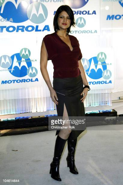 Jennifer Gimenez during Motorola Hosts Fourth Annual Holiday Party Arrivals at The Lot in Hollywood CA United States