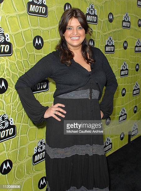 Jennifer Gimenez during Motorola's 8th Anniversary Party Featuring a Performance by Christina Aguilera at Hollywood Palladium in Hollywood California...