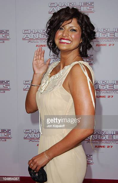 Jennifer Gimenez during Premiere of Charlie's Angels Full Throttle at Grauman's Chinese Theatre in Hollywood California United States