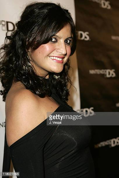 Jennifer Gimenez during The Exclusive Nintendo DS PreLaunch Party at The Day After Red Carpet at The Day After in Los Angeles California United States