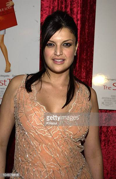 Jennifer Gimenez during The Sweetest Thing After Party at Roseland in New York City New York United States