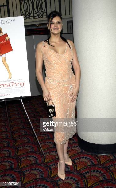 Jennifer Gimenez during The Sweetest Thing Premiere at Loews Lincoln Square in New York City New York United States
