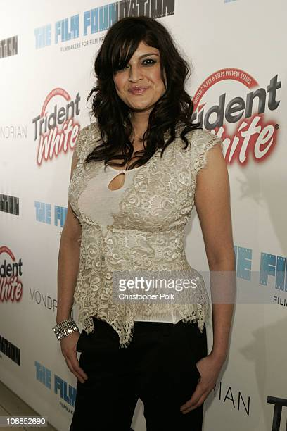 Jennifer Gimenez during Trident White Presents Black and White Party Hosted by McG and Stephanie Savage Benefitting Martin Scorsese's Film Foundation...