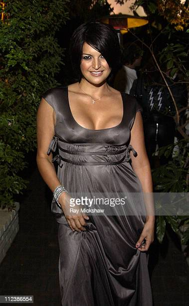 Jennifer Gimenez during W Magazine and Bacardi Limon Host a Tribute to Vintage Fashion Inside at Chateau Marmont in Hollywood California United States