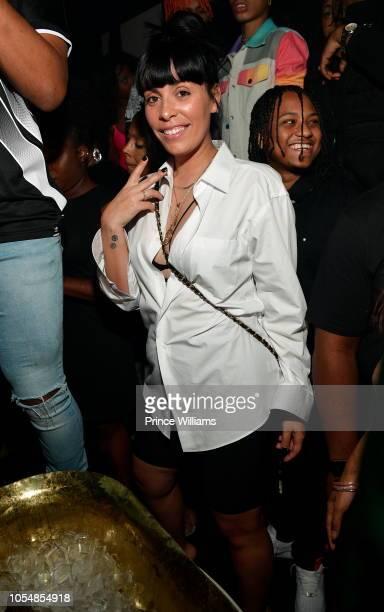 Jennifer Goicoechea attends Usher's Birthday Party at Gold Room on October 14 2018 in Atlanta Georgia