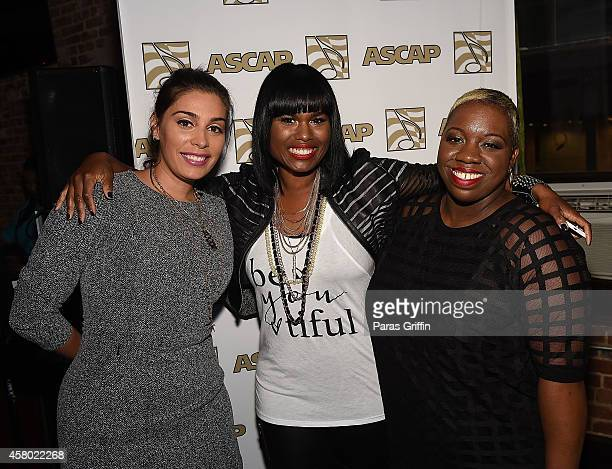 Jennifer Goicoechea Crystal Nicole and Joncier Rienecker attend the ASCAP Rhythm And Soul Presents Women Behind The Music Atlanta Edition at Negril...
