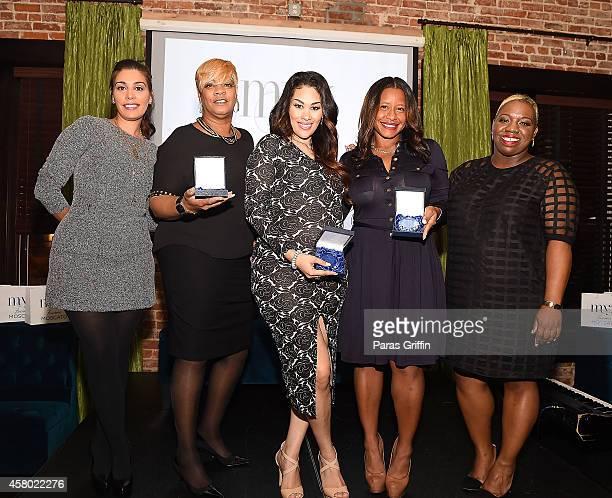 Jennifer Goicoechea Deb Antney Keke Wyatt Omara S Harris and Joncier Rienecke onstage the ASCAP Rhythm And Soul Presents Women Behind The Music...