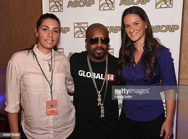 Jennifer Goicoechea Jermaine Dupri and Julia Beverly attend the AC3 Festival ASCAP presents In Conversation With Jermaine Dupri at Crowne Plaza...