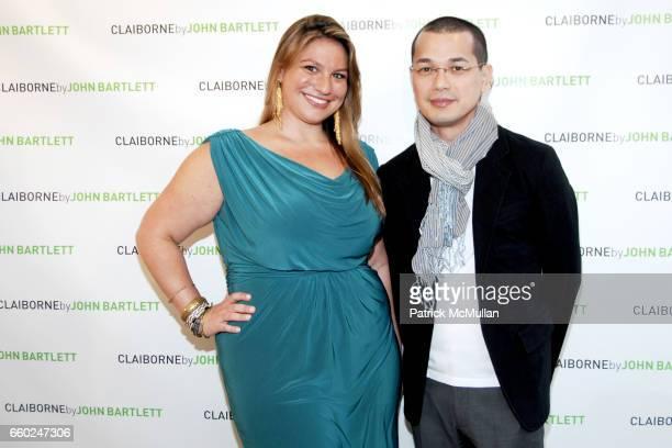 Jennifer Goldszer and Artus attend Opening for JOHN BARTLETT Pop Up Shop for CLAIBORNE at John Bartlett on June 17 2009 in New York City