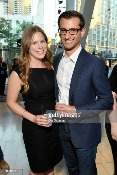 Jennifer Gonzales and Craig Leibowitz attend Lincoln Center Corporate Fund's Stand Up Sing for the Arts at Alice Tully Hall on June 19 2018 in New...
