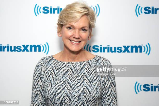 Jennifer Granholm visits SiriusXM Studios on June 18 2019 in New York City