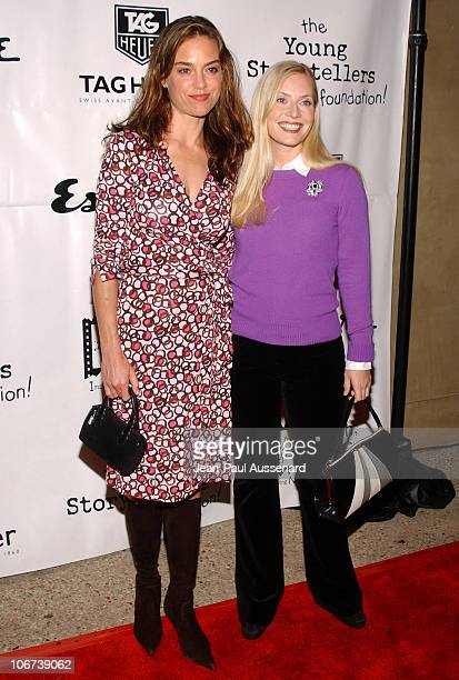 Jennifer Grant and Emily Procter during The Cast of The OC at Esquire House Los Angeles to Benefit Young Storytellers Program Arrivals at Esquire...