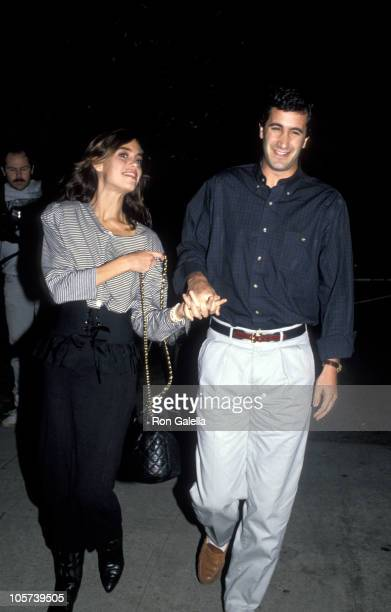Jennifer Grant and Randy Gisk during A Man for All Seasons Los Angeles Screening November 5 1988 at Academy Theatre in Los Angeles California United...