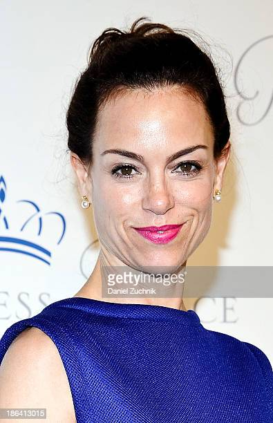 Jennifer Grant attends the 2013 Princess Grace Awards Gala at Cipriani 42nd Street on October 30 2013 in New York City