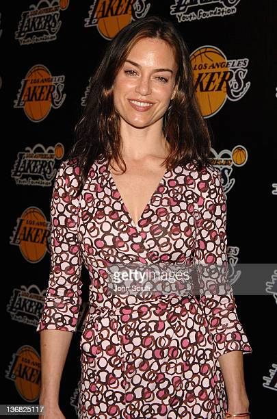 Jennifer Grant during 2nd Annual Lakers Casino Night Benefiting the Lakers Youth Foundation Red Carpet and Inside at Barker Hanger in Santa Monica...
