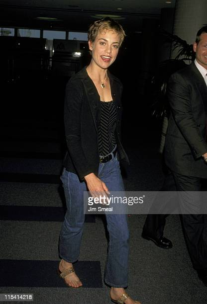 Jennifer Grant during Jennifer Grant Sighting at Los Angeles International Airport May 25 1998 at Los Angeles International Airport in Los Angeles...