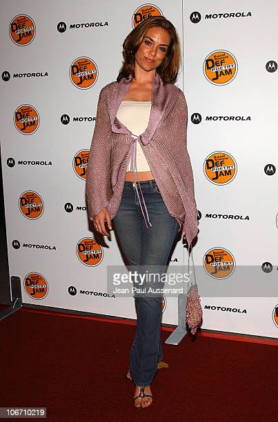 Jennifer Grant during Russell Simmons and Stan Nathan Host Def Poetry Jam Los Angeles Kick Off For 32 City Tour Arrivals at Wadsworth Theater in...