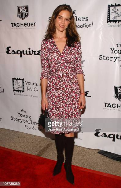 Jennifer Grant during The Cast of The OC at Esquire House Los Angeles to Benefit Young Storytellers Program Arrivals at Esquire House Los Angeles in...