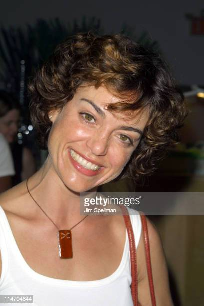Jennifer Grant during USA Network's Opening Night Premiere at the 2001 US Open at Arthur Ashe Stadium in Flushing Meadows New York United States