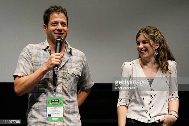 "Jennifer Grausman and Mark Becker attend the 2008 Los Angeles Film Festival's ""Pressure Cooker"" Screening on June 24, 2008 at The Landmark,..."