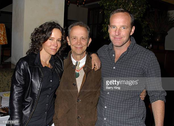Jennifer Grey and father Joel Grey and husband Clark Gregg